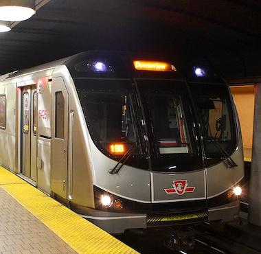 TTC Subway Car