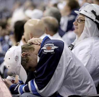 Winnipeg Jets Fan Misery